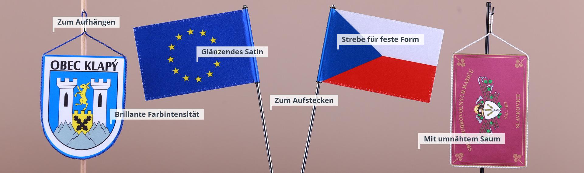 Tischflaggen und -ständer