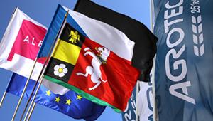 Bedruckte Flaggen für den Außenbereich und Beach Flags