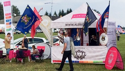 Beach vlajky, nůžkové stany pro zájmové spolky a sportovní kluby