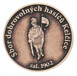 Gedenkmünze des Freiwilligen Feuerwehrvereins (SDH) Kelčice