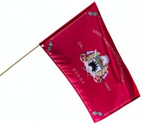 Feuerwehrflagge - Beispiel für Auftragsproduktion