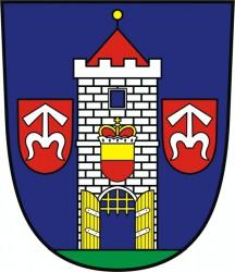 Wappenentwurf für die Stadt Moravský Krumlov
