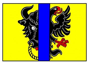 Flaggenentwurf für die Stadt Bystřice nad Pernštejnem