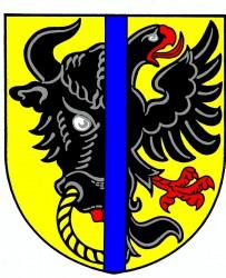 Wappenentwurf für die Stadt Bystřice nad Pernštejnem