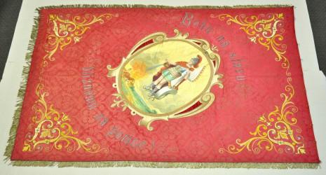 Fahne des Freiwilligen Feuerwehrvereins (SDH) Brodno