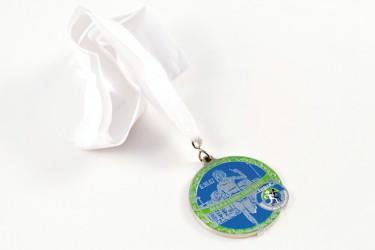 Herstellung von Medaillen