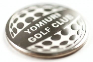 Gedenkmünzen für Golfklubs