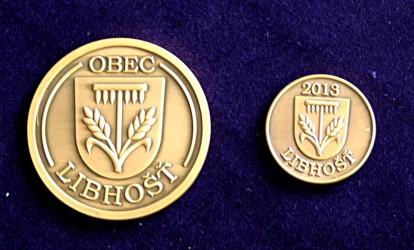 Herstellung von Gedenkmünzen für die Gemeinde Libhošť
