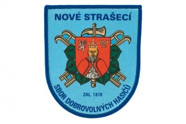Tištěná nášivka prBedruckter Aufnäher des Freiwilligen Feuerwehrvereins (SDH) Nové Strašecío SDH Nové Strašecí