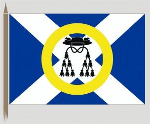 Neu entworfene Flaggenform für die Gemeinde Opatovice