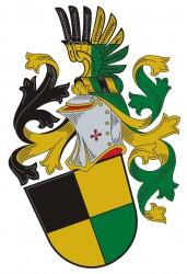 Beispiel für die Heraldik-Herstellung eines persönlichen Wappens