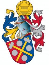 Entwurf für ein persönliches Wappen für den Münzmeister von Brno