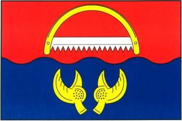 Flaggenentwurf für die Gemeinde Rudolec