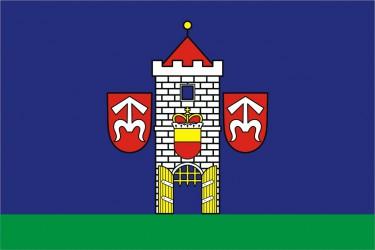 Flaggenentwurf für die Stadt Moravský Krumlov
