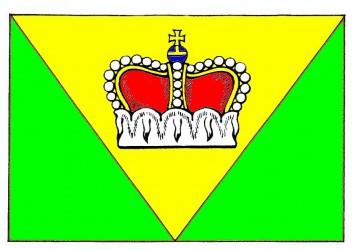 Flaggenentwurf für Ústí (Bezirk Jihlava)