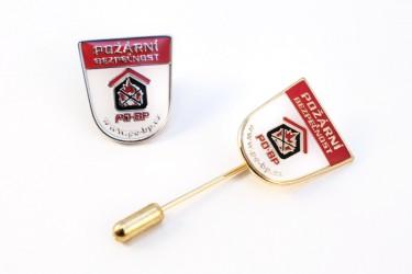 Abzeichen für die Firma Požární bezpečnost s.r.o. (Brandschutz GmbH)