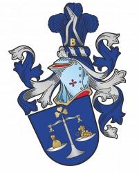 Entwurf des persönlichen bürgerlichen Heraldik-Wappens für Herrn Jindřich Klusoň