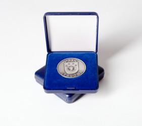 Gedenkmünzen in der Schachtel