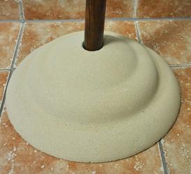 Ständer aus Sandstein für Basisstange