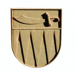 Wappen aus Sandstein