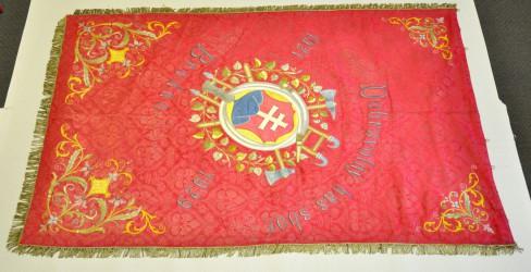 Historische Feuerwehrfahne Brodno