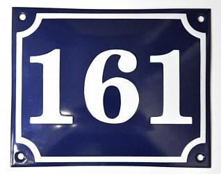 Emaillierte Hausnummern
