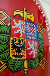 Detail eines Feuerwehrovals