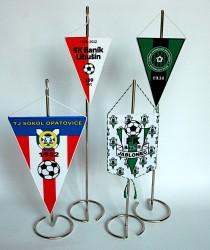 Tischflaggen für Sportklubs
