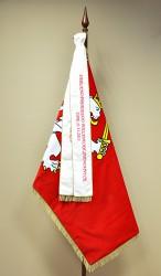Besticktes flaches festliches Band für Flagge