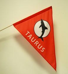 Kundenindividuelle Auftragsproduktion von bedruckten Flaggen in verschiedenen Größen und Formen