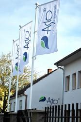 Firmenflaggen für den Außenbereich für die Firma ASIO
