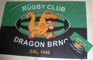 Im Rahmen von kundenindividuellen Auftragsarbeiten für Klubs und Vereine angefertigte Flaggen