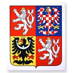 Großes Staatswappen der Tschechischen Republik in Kunststoffausführung