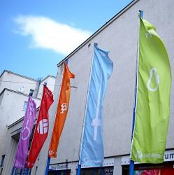 Flagge für den Außenbereich für den Turnverein Sokol Brno I