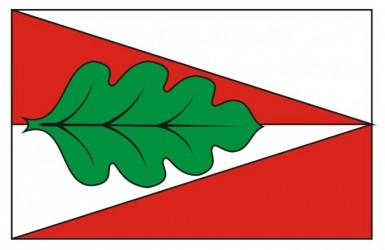 Flaggenentwurf für die Gemeinde Panské Dubenky