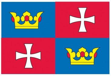 Flaggenentwurf für die Gemeinde Chvalšiny