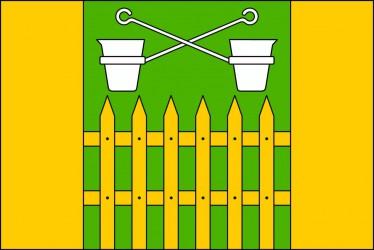 Flaggenentwurf für die Gemeinde Obůrky