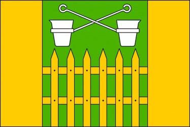Flaggenentwurf für Obůrky (Stadtteil von Blansko)