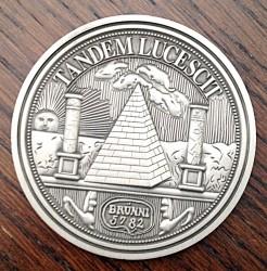 Beispiel für eine Auftragsproduktion von Gedenkmünzen