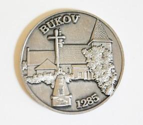Gedenkmünze des Freiwilligen Feuerwehrvereins (SDH) Bukov
