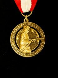 Detail einer Auszeichnung