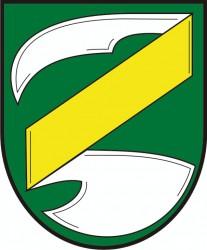 Wappenentwurf für die Gemeinde Zvěrkovice im Bezirk Třebíč