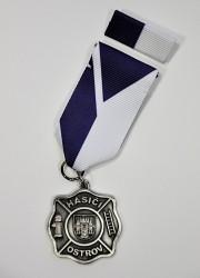 Auszeichnung - Feuerwehrmänner Ostrov