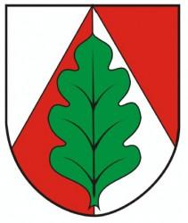 Wappenentwurf für die Gemeinde Panské Dubenky