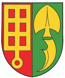 Wappenentwurf für die Gemeinde Horní Štěpánov (Bezirk Prostějov)