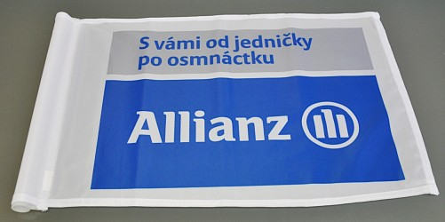 Golfové vlaječky - Allianz