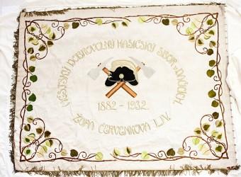 Historický prapor SDH Dačice