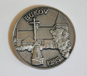 Pamětní hasičská mince SDH Bukov