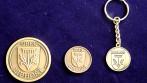 Pamětní mince a klíčenka pro obec Libhošť