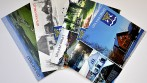 Ukázka výroby pohlednic